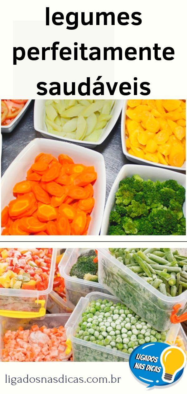 Congelando legumes sem perder nutriente