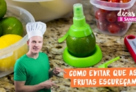 Como evitar que as frutas escureçam