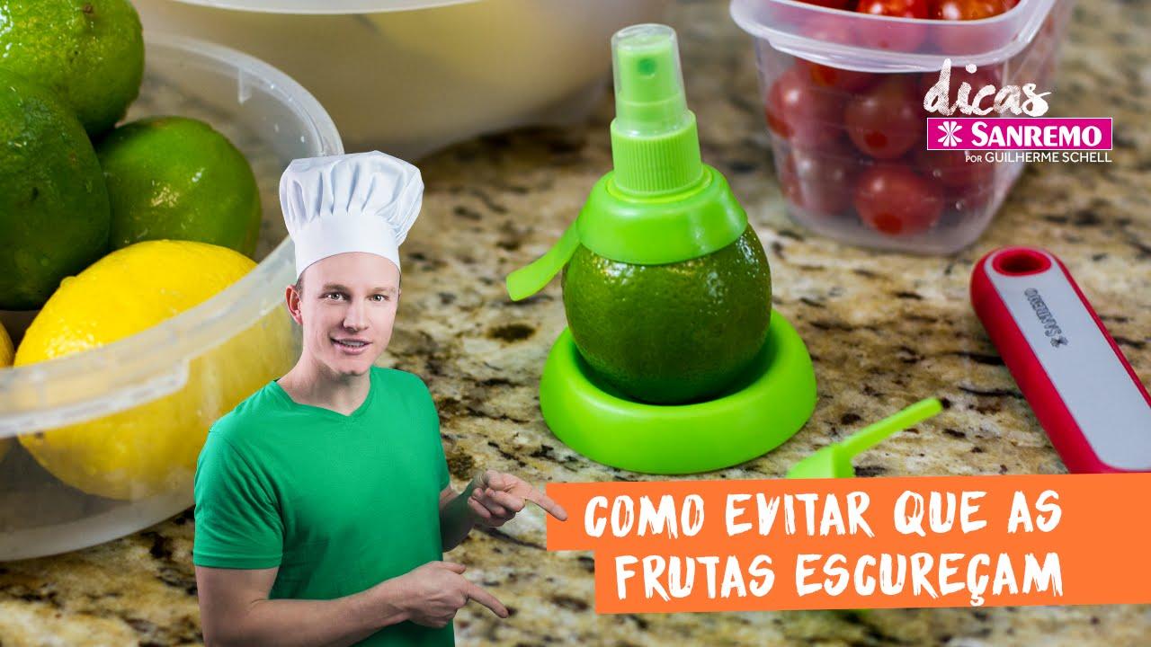 Como evitar que as frutas escureçam