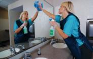 Como limpar espelhos