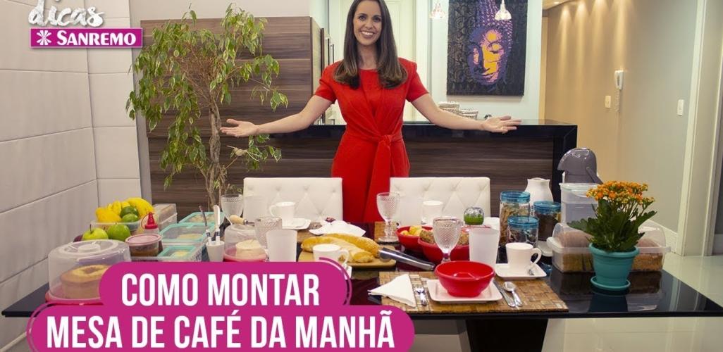 Como Montar uma Mesa de Café da Manhã