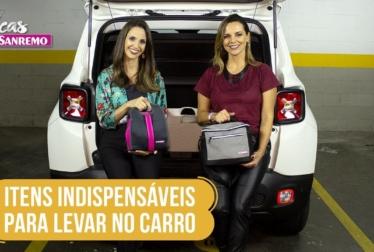 Itens Indispensáveis para Levar no Carro