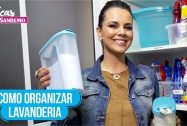Como Organizar Lavanderia