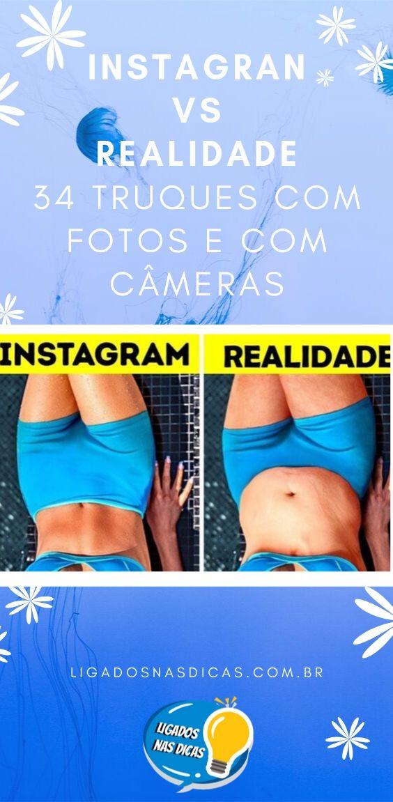 instagram versus realidade