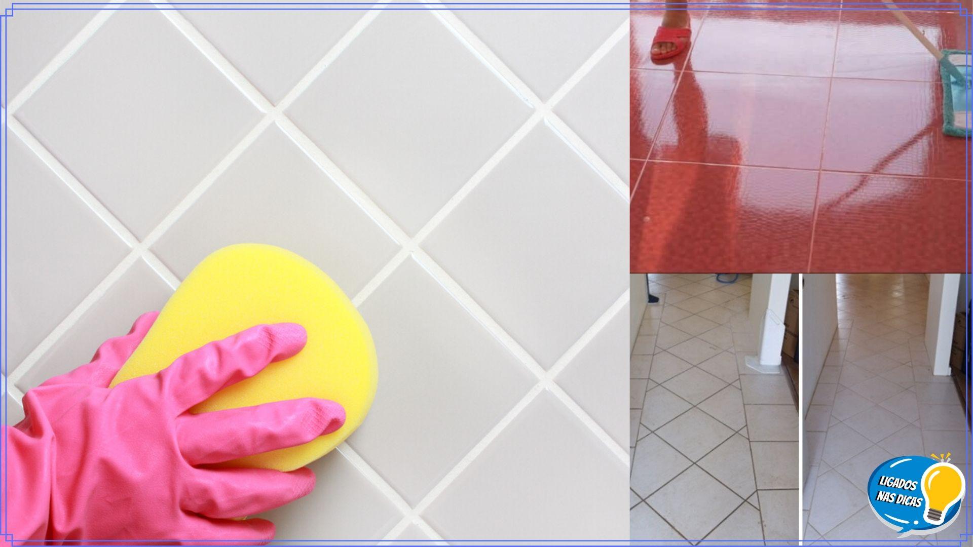 7 dicas para limpar azulejos e rejuntes