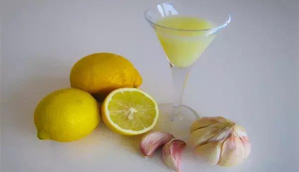Água de Alho Com Limão