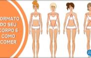 Como comer corretamente de acordo com o formato do seu corpo